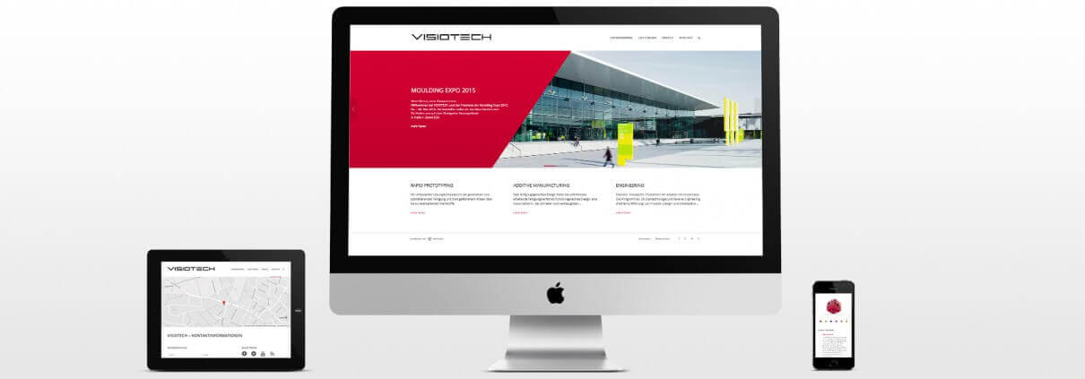 VISIOTECH | neue Website