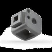 Oberflächentechnik | PA12 | Einfärben | Grau