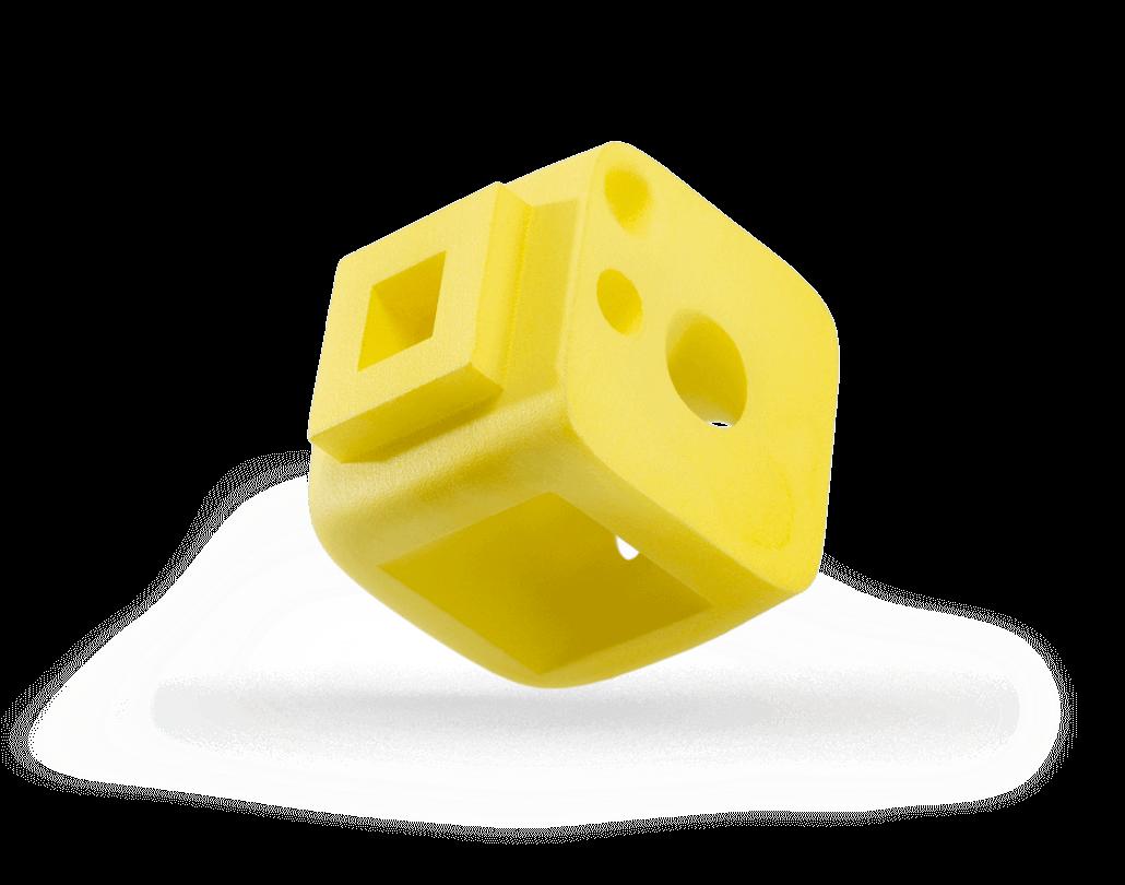 Oberflächentechnik | PA12 | Einfärben | Gelb