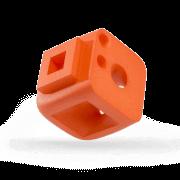 Oberflächentechnik | PA12 | Einfärben | Orange