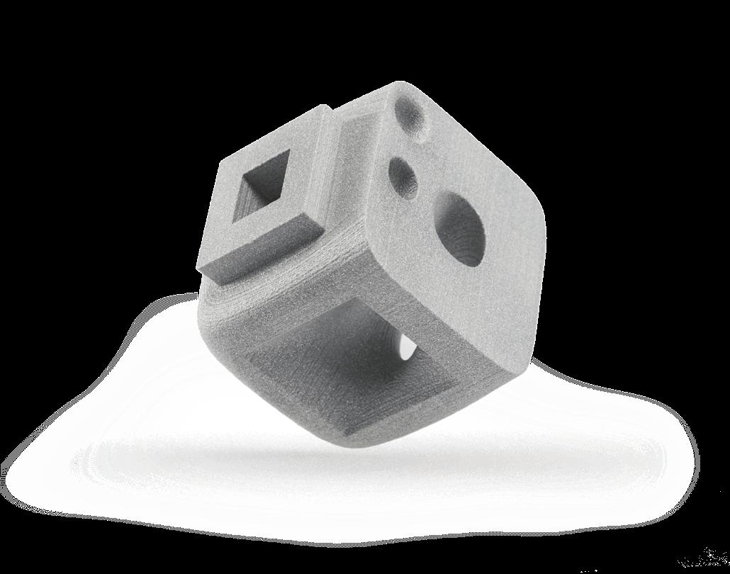 Selektives Lasersintern – (SLS) | Alumide (PA12 mit Aluminiumanteil)