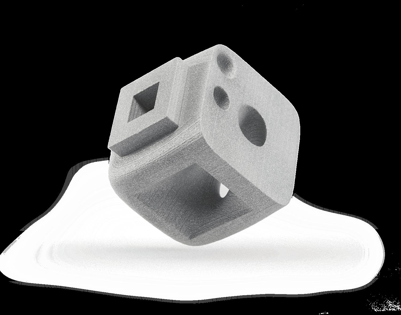 Alumide (PA12 mit Aluminiumanteil) - Lasersintern Material