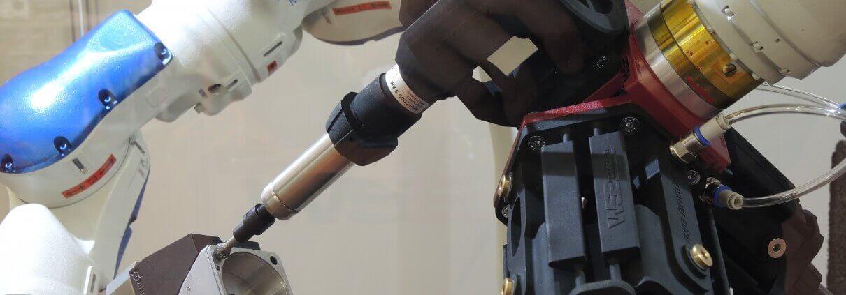 Additive Manufacturing | WSE Auslenksystem Roboter