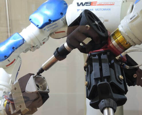 Additive Manufacturing | WSE Auslenksystem Roboter