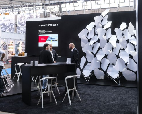 Moulding Expo 2015 | Messe Stuttgart | Messestand VISIOTECH