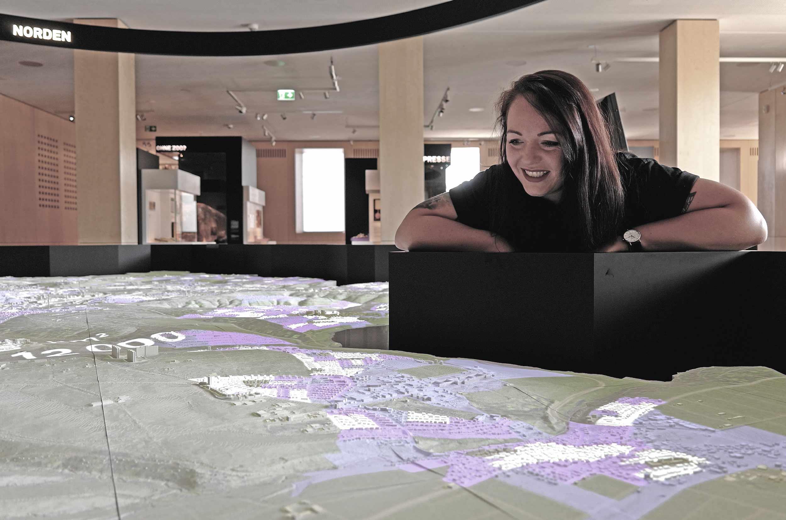 Stadt Palais Thea Sauter Projektleiterin Stadtmodell