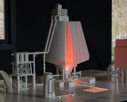 Architekturmodelle industrieller 3D-Druck
